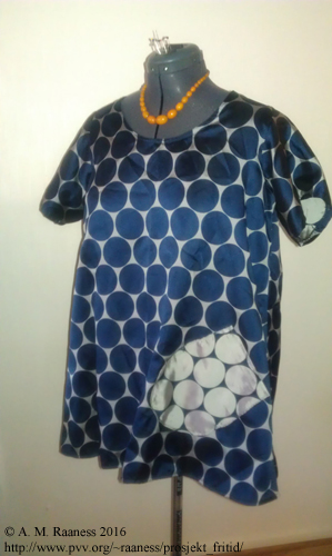Kort A-kjole